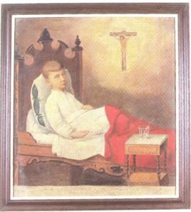 Pintura pertencente ao acervo da Igreja do Nosso Senhor Bom Jesus do Bonfim, Salvador-BA