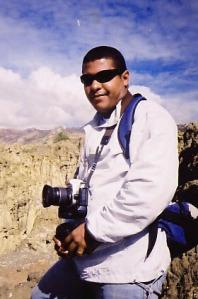 LAB, Valle de la Luna, arredores de La Paz, Bolívia, 2003
