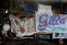 Ex-votos no Santuário de Gilda, Ruta Nacional 12, Entre Ríos, Argentina, 31/12/2010 — em Paranacito, Entre Rios, Argentina.