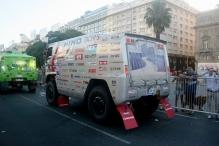 Largada do Rally Dakar, Av. 9 de Julio, Buenos Aires, Argentina, 01/01/2011 — em Buenos Aires, Distrito Federal, Argentina.