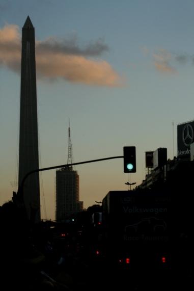 Av. 9 de Julio, Buenos Aires, Argentina, 01/01/2011 — em Buenos Aires, Distrito Federal, Argentina.