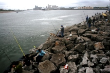 Pier de Quequén, Argentina, 09/01/2011 — em Necochea, Buenos Aires, Argentina.