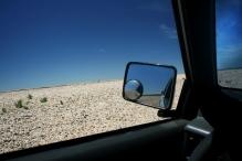 Alcantarilla, Gran Bajo del Gualicho, Ruta 2, entre Choele-Choel e San Antonio Oeste, Argentina, 11/01/2011 — em San Antonio Oeste, Rio Negro, Argentina.