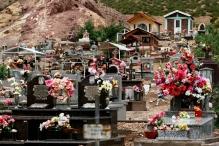 Cementerio de Uspallata, Mendoza, Argentina, 24/01/2011 — em Uspallata, Mendoza, Argentina.