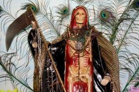 San la Muerte, Santuario San la Muerte, Mariano Loza, Corrientes, Argentina, 30/01/2011 — em Mariano I. Loza, Corrientes, Argentina.