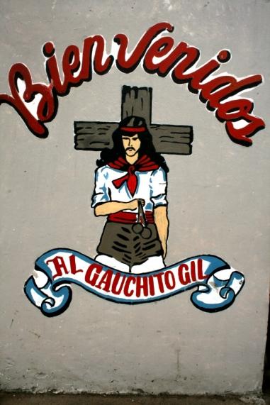 Santuário do Gauchito Gil, Mercedes, Corrientes, Argentina, 31/01/2011 — em Mercedes, Buenos Aires, Argentina.