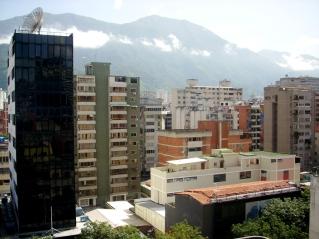 Vista parcial da cidade, desde o Hotel Lincoln Suites, Sabana Grande, Caracas-DF, Venezuela, 20/08/2011