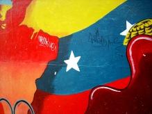 Detalhe de pintura mural em Sabana Grande, Caracas-DF, Venezuela, 22/08/2011