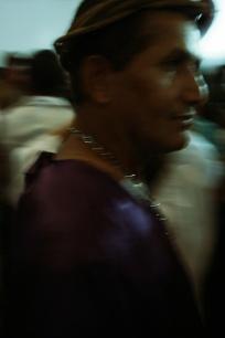 Procissão do Senhor dos Passos, noite de 16 de março de 2014. Fotografia com luz existente. São Cristóvão-SE.